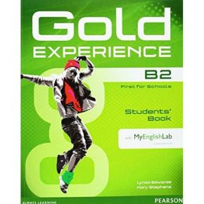 Gold Experience B2 Student's Book (Βιβλίο Μαθητή+DVD+My English Lab)