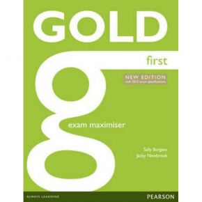 Gold First Exam Maximiser (+Online Audio)