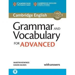 Grammar And Vocabulary For Advanced - Self Study Pack (With Answers+Online Audio)
