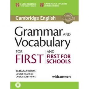 Grammar And Vocabulary For First And First For Schools (With Answers+Online Audio)