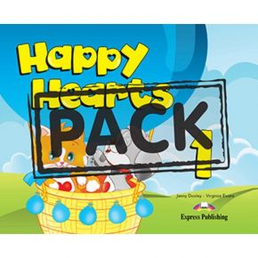 Happy Hearts 1 - Pupil's Pack (Βιβλίο Μαθητή+CD)