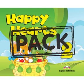 Happy Hearts 2 - Pupil's Pack (Βιβλίο Μαθητή+CD)
