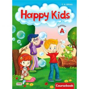 Happy Kids Junior A Coursebook (Βιβλίο Μαθητή)