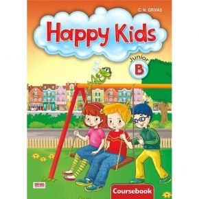 Happy Kids Junior B Coursebook (Βιβλίο Μαθητή)