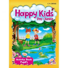 Happy Kids Pre-Junior Activity Book Pupil's (Βιβλίο Ασκήσεων+CD)