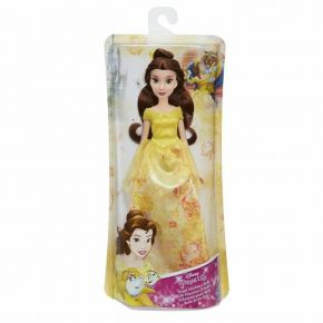 Hasbro Disney Princess Royal Shimmer Doll Κούκλα Belle