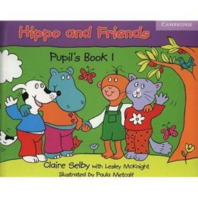 Hippo And Friends 1 - Pupil's Book (Βιβλίο Μαθητή+DVD)