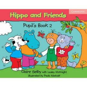 Hippo And Friends 2 - Pupil's Book (Βιβλίο Μαθητή+DVD)