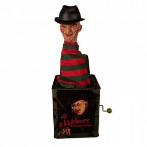 Hollytoon Mezco Toys Burst-A-Box Freddy Krueger