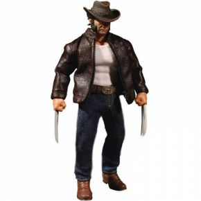 Hollytoon Mezco Toyz Φιγούρα One:12 Collective Logan Wolverine 17cm (Marvel)