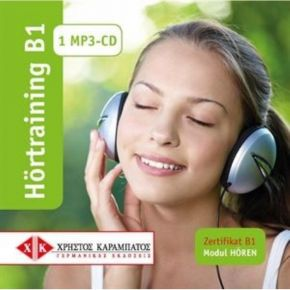 Hörtraining B1 - 1 MP3-CD