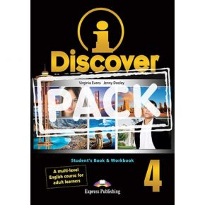 i-Discover 4 Pack - Student's Book & Workbook (+i-eBooK)
