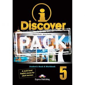 i-Discover 5 Pack - Student's Book & Workbook (+i-eBooK)