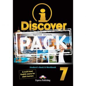 i-Discover 7 Pack - Student's Book & Workbook (+i-eBooK)