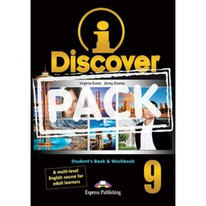 i-Discover 9 Pack - Student's Book & Workbook (+i-eBooK)