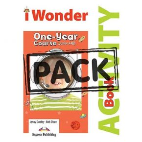 I Wonder Junior A+B - Activity Book (With Digibooks App)