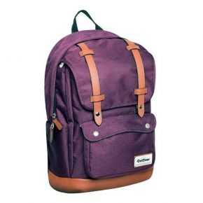 KalGav Outdoor Revolution Τσάντα Πλάτης Emily Brown Leather Purple Black