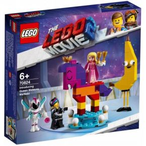 Lego 70824 Movie 2 Introducing Queen Watevra Wa'Nabi
