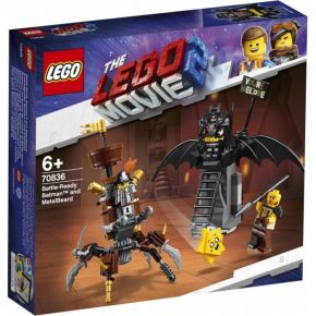 Lego 70836 Movie 2 Battle-Ready Batman & MetalBeard