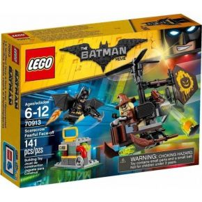 Lego 70913 Super Batman Movie Scarecrow Fearful Face-Off