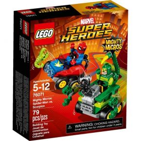 Lego 76071 Super Heroes Mighty Micros: Spider-Man vs. Scorpion