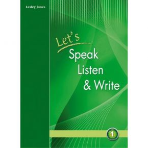 Let's Speak, Listen And Write 1 Student's Book