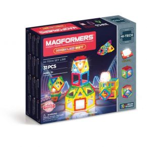 Magformers Hi-tech Neon Led 31 Τεμάχια