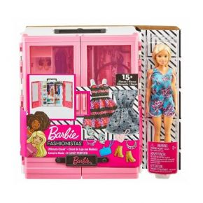 Mattel Barbie Fashionistas - Η Νέα Ντουλάπα Της Barbie GBK12