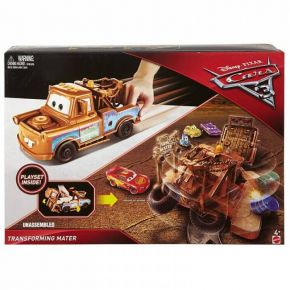 Mattel Disney Pixar Cars 3 Transforming Mater Playset