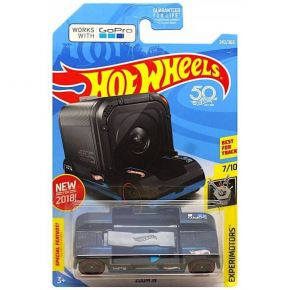 Mattel Hot Wheels 50th Anniversary Experimotors Zoom In 242/365 Black