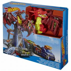Mattel Hot Wheels Πίστα Δράκος Dragon Blast Playset
