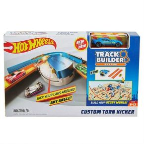 Mattel Hot Wheels Βασική Πίστα Track Builder System Custom Turn Kicker
