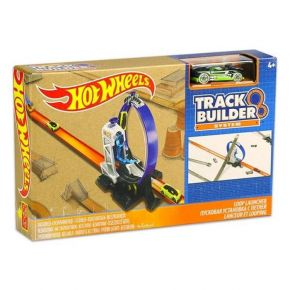 Mattel Hot Wheels Βασική Πίστα Track Builder System Loop Launcher