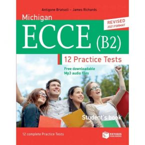 Michigan ECCE (B2) 12 Practice Tests - Student's Book (Revised 2021 Format)