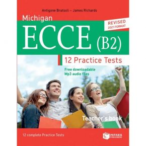 Michigan ECCE (B2) 12 Practice Tests - Teacher's Book (Revised 2021 Format)