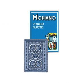 Modiano Τράπουλα Poker Ruote 99 Blue