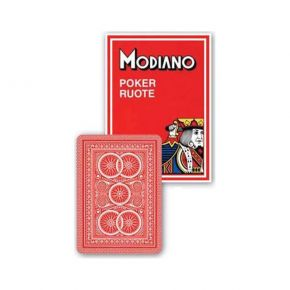Modiano Τράπουλα Poker Ruote 99 Red