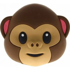 Moji Power Powerbank Monkey Double Face 2600mAh