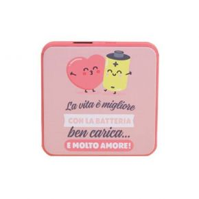 Mr Wonderful Powerbank 4000mAh 5V/800mA 1USB Love
