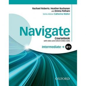 Navigate B1+ Intermediate - Coursebook (Βιβλίο Μαθητή+DVD)
