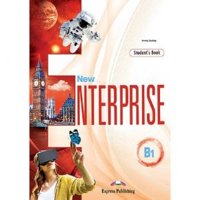 New Enterprise B1 - Student's Book (With Digibooks App)