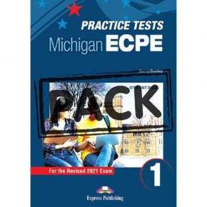 New Michigan ECPE Practice Tests 1 For The Revised 2021 Exam - Student's Book (With Digibooks App)