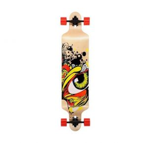 Nils Extreme Τροχοσανίδα Long Board Skate Wood Eye