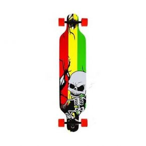 Nils Extreme Τροχοσανίδα Long Board Skate Wood Homeland Skeleton