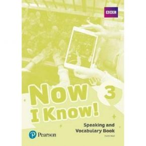 Now I Know 3 - Speaking And Vocabulary Book