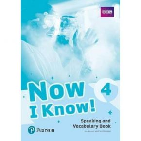 Now I Know 4 - Speaking And Vocabulary Book