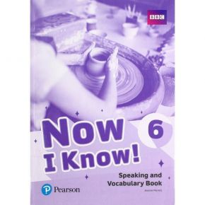 Now I Know 6 - Speaking And Vocabulary Book