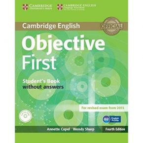 Objective First - Student's Book (Without Answers+CD)