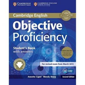Objective Proficiency Student's Book (With Answers+Downloadable CDs)