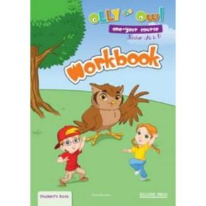 Olly The Owl Junior A & B One-Year Course - Workbook (Βιβλίο Ασκήσεων)